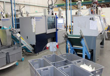 We use over 30 Battenfeld machines to make concealed cisterns, cistern components and other products
