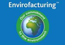 Our Envirofacturing initiative underlines our commitment to greener manufacturing