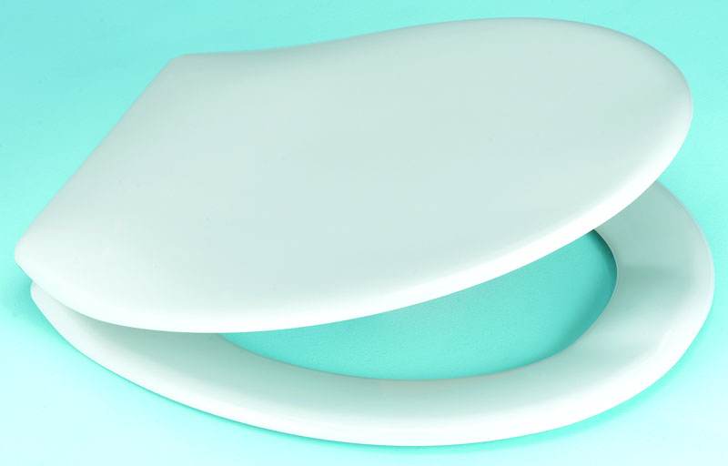 White Toilet Seat Thermoset Toilet Seat Easy Clean