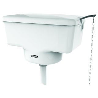Tri-Well plastic flush cistern